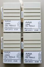Lot of 4 Avaya AT&T Lucent Definity 120A4 2-Port Channel Service Unit CSU Module
