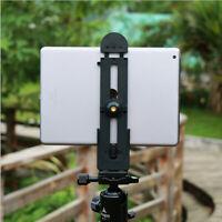 Metal Aluminum Tripod Mount Adapter Tablet Clamp Holder for iPad Air/Mini