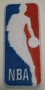 National Basketball League~NBA~Embroidered PATCH~3 3/4 x 1 5/8~Iron or Sew On