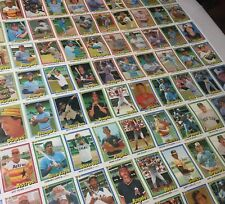 1981 Donruss Baseball Card Uncut Sheet Loaded with Stars Hall of Famers