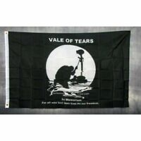 Vale of Tears Flag Banner Sign 3' x 5' Foot Polyester Grommets