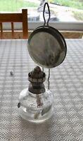 Antique Lampe à Pétrole Lanterne  Bougeoir Vintage Scout Scoutisme Camping