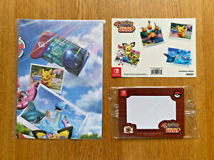 New Pokemon Snap photo frame stickers double sided poster nintendo switch