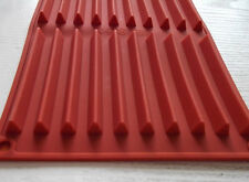 20-Triangle Stripes Bar Cake Mold DIY Cookie Mould Flexible Silicone Chocolate