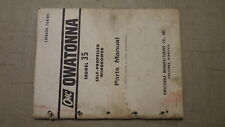 OMC Owatonna Model 35 Self-Propelled Windrower Parts Manual  Cat. 768WO