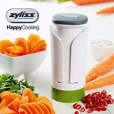 NEW ZYLISS VEGETABLE SPIRALIZER Slicer Cutter Fruit Food Spiraliser Julienne