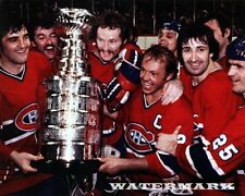 NHL 1978 Montreal Canadiens Stanley Cup Celebration Color 8 X 10 Photo Picture