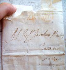 1762 PREFILATELICA DA SAN MARTINO AL TAGLIAMENTO A VENEZIA ANNULLO UDINE