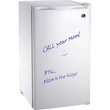 Igloo 3.2 Cu Ft Erase Board Refrigerator / Freezer, White- FR326 - Refurbished