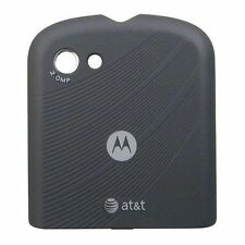 Used OEM Motorola Karma QA1 AT&T Black Replacement Part Battery Back Cover Door