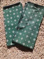 Longaberger Heritage Green Fabric Napkins set of 2