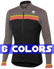 Sportful Pista Thermal Men's Long Sleeve Cycling Jersey : 6 Colors : SEE VIDEO