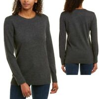 Equipment NWT Womens XL Charcoal Gray Rei Crew Neck Sweater Wool/Cashmere Blend