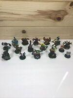 Skylanders Lot Bundle of 17 Figures Spyros Green Base Excellent Condition Lot #2