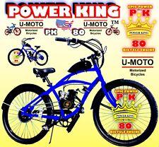 66cc/80cc 2-Stroke Motorized Bike Kit And 26� Cruiser Bike Diy Power Motor Bike