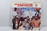 Saludos Amigos Con Trio Del Norte y Trio Los Aquilluchos Vintage Vinyl Record LP