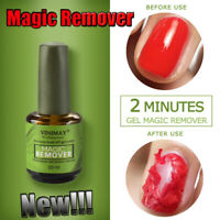 Newest Burst Magic Remove Gel Nail Polish Soak off Acrylic Clean Degreaser 15ml