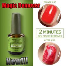 Hot! 15ml Burst Magic Remove Gel Nail Polish Soak off Acrylic Clean Degreaser ~