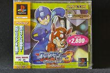 Factory Sealed PS1 first v. ROCKMAN MEGA MAN 3 Playstation JAP PsOne SLPS 02262