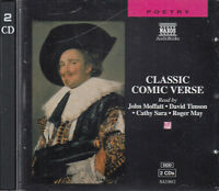 Classic Comic Verse 2CD Audio Poetry Shakespeare Carroll Lear Byron Swift Keats