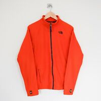 THE NORTH FACE Boys Kids Full Zip Up Outdoor Fleece Jacket Orange Size XL 18/20