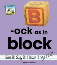Ock As in Block (Word Families Set 5)-ExLibrary