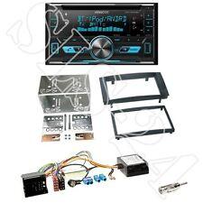 Kenwood DPX5000BT CD/USB Radio + VW Touareg/T5 2-DIN Radioblende black +Can-Bus
