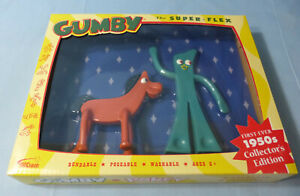 Gumby & Pokey Bendable & Poseable 2 Pc Figure Toys 1950's C/E ©2016 Prema Toy Co