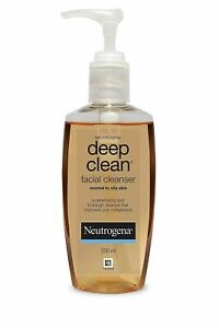 Neutrogena Deep Clean Facial Cleanser For Normal To Oily Skin, 200ml 2856