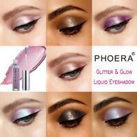 12colors Eyeshadow Liquid Waterproof Shimmer Glitter Eyeliner Makeup Cosmetics