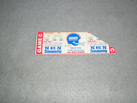 1985 New York NY Giants Minnesota Vikings NFL NFC Championship Game Ticket Stub