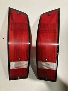 genuine Porsche 911 930 912 tail light taillamp lenses GERMANY L R PAIR 68-89