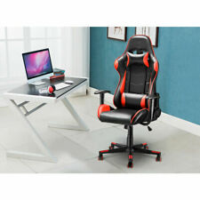Luxury Executive Racing Gaming Office Chair Recliner High Back Fx Leather Color
