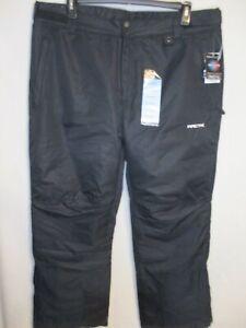 ARCTIX Polyester Large (36-38W x 32) Black Essentials Snow Pants NEW w/Tags