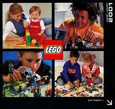 LEGO Katalog 2001 August bis Januar Spielzeugkatalog Spielzeuge catalog toys
