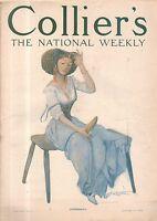 1909 Collier's January 23-Messina Sicily Earthquake;Sarah Stilwell Weber;O Henry