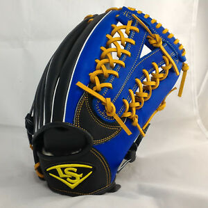 "Louisville Slugger Beginner 12.25"" Royal/Black Y-Web RHT Outfield Baseball Glove"