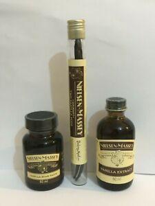 Nielsen-Massey -- Vanilla Extract Or Vanilla Bean Paste 60ml [Multi Variations]