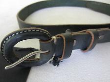 Paul Smith Ajustado de Piel Cinturón de Hebilla - Verde - 86.4cm Waist - Nuevo