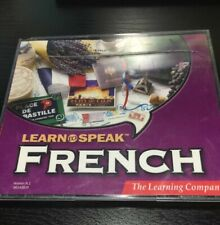 Learn to speak French 6 Audio CD's The learning Company 8.1