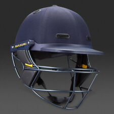 2020 Masuri Vision Series Elite Navy Cricket Helmet Steel Grill