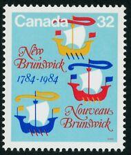 Canada Stamp #1014 New Brunswick Bicentennial vessels (1984)  MNH
