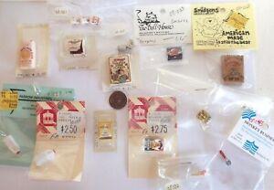 Doll House Miniature Food Quaker Oats Milk Breyers Ice Cream Cone Scoop Dannon