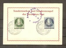 TIMBRE ALLEMAGNE BERLIN N°62 ET 64 OBLITERE SUR CARTE 1ER JOURS FIRST DAY COVERS