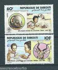 DJIBOUTI - 1981 YT 539 à 540 - TIMBRES NEUFS** LUXE