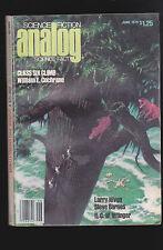 June 1979  Analog Magazine- Larry Niven, Steve Barnes, William E Cochrane