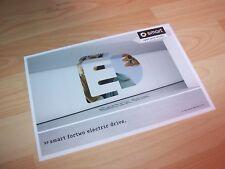 Dépliant pub / Brochure SMART Fortwo Electric 2010 //