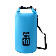 Borsa Impermeabile Sacca Galleggiante Sport Acquatici CAPACITA' 10 Litri Dry Bag