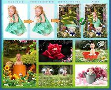 STUDIO PHOTOGRAPHY DIGITAL PROPS BACKGROUNDS BACKDROPS FOR CHILDREN/BABIES