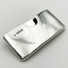 More details for edwardian sterling silver calling card case chester 1901 william neale